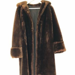 Jackets & Blazers - Real fur coat from the 50'